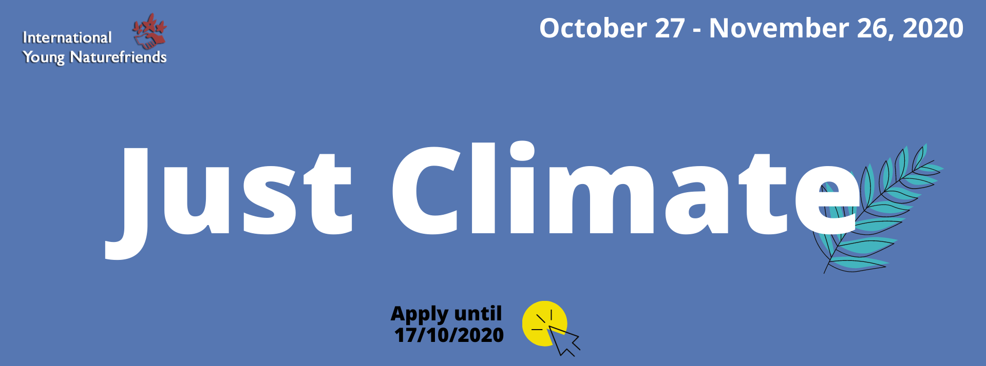 Just Climate - apply for online training