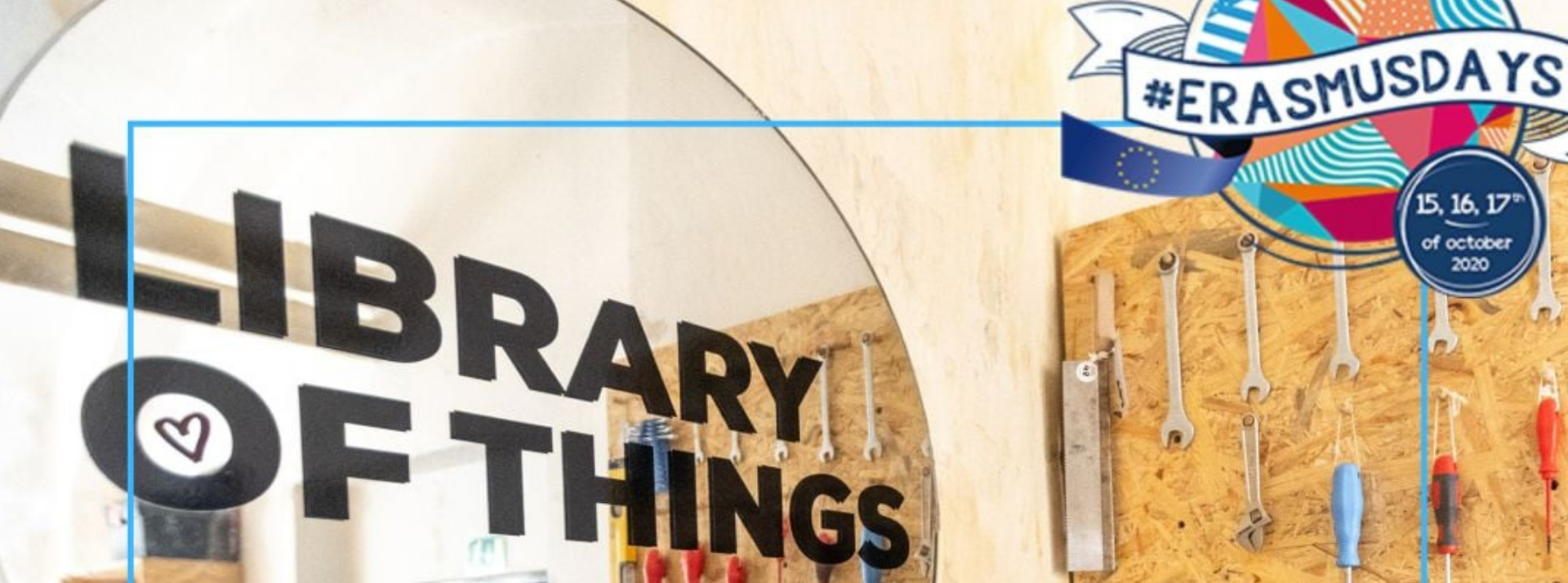 Erasmus Days Interview: Library of Things