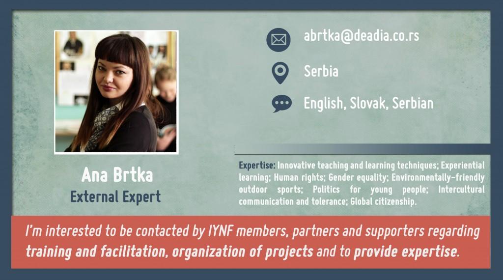 Ana Brtka profile