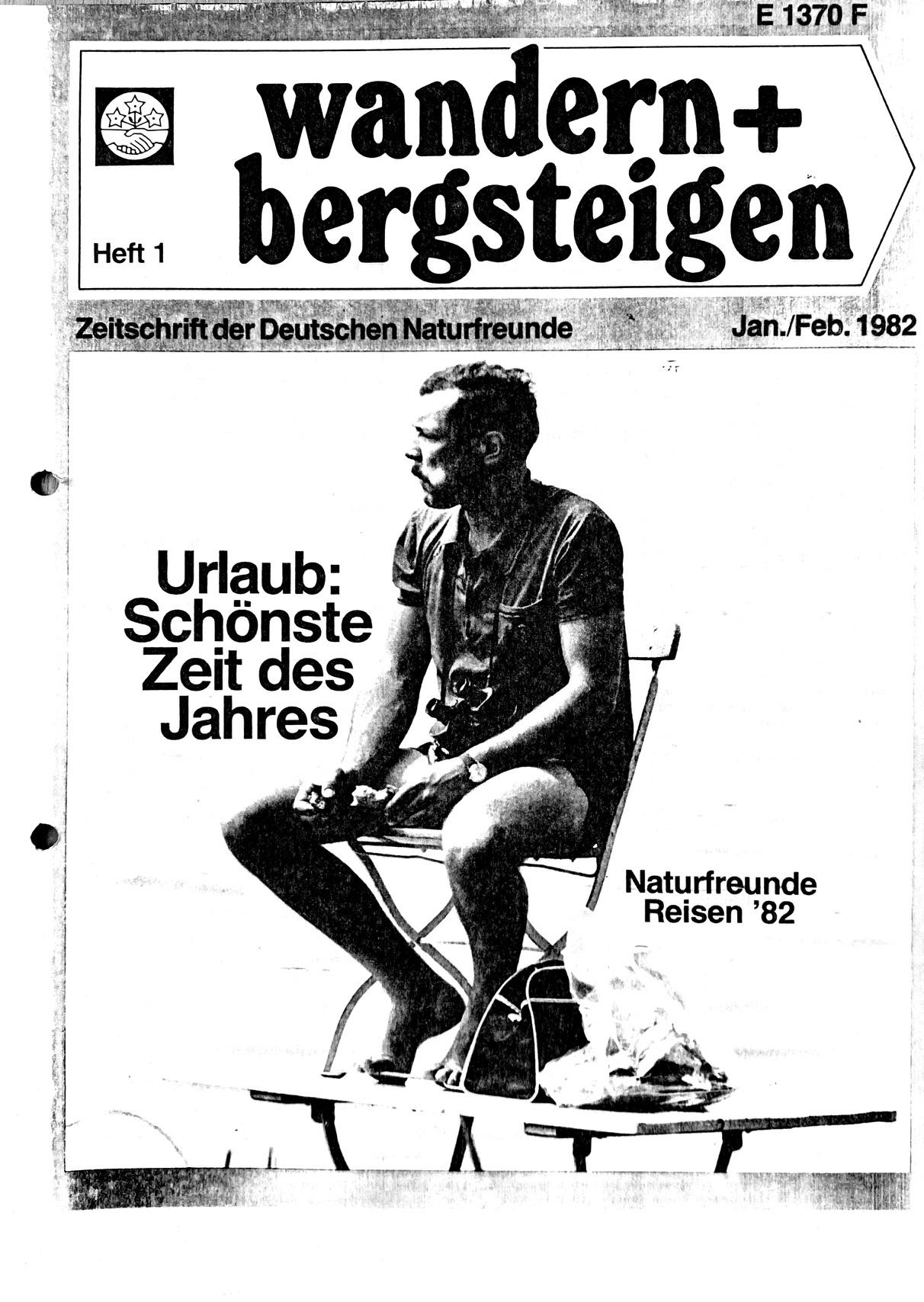 Wander und bergsteigen 1982