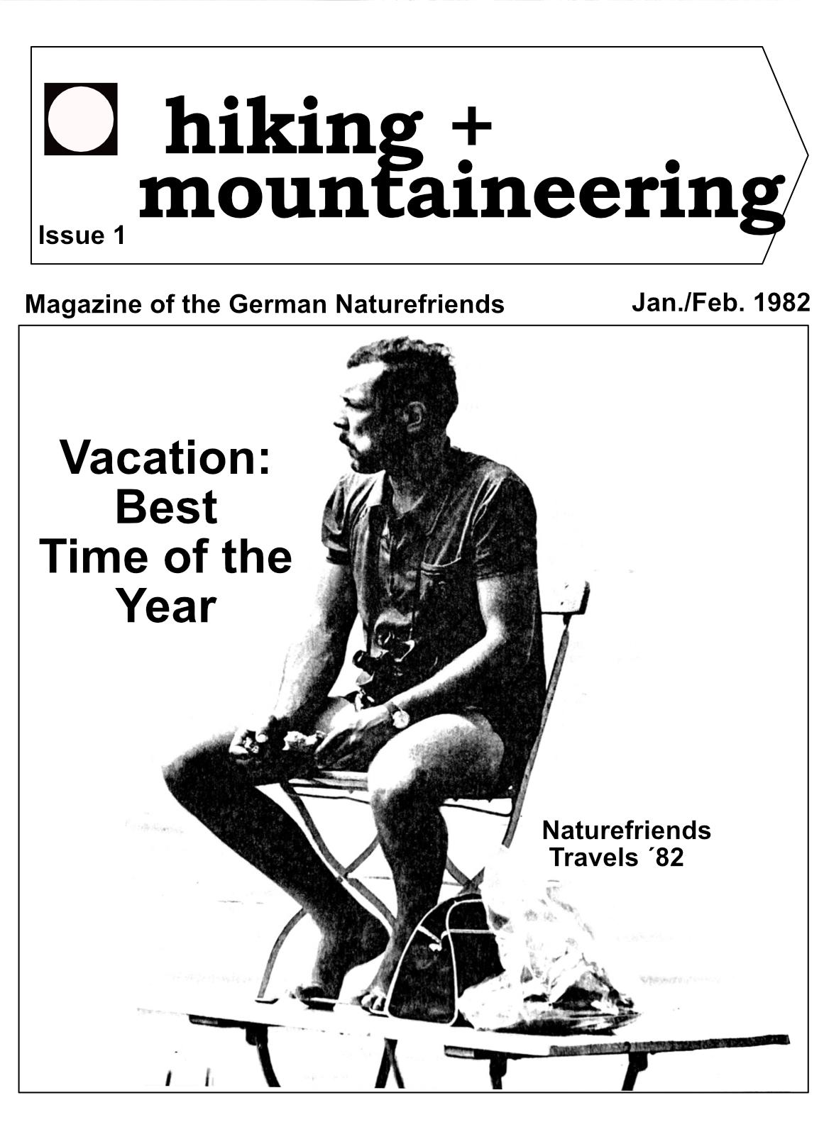 Wandern and bergsteigen 1982 translation